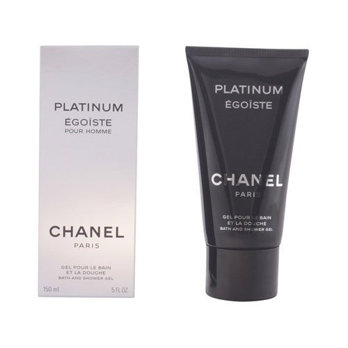 Chanel Platinum Egoiste Men, Bath and Shower Gel, 1er Pack (1 x 150 ml)