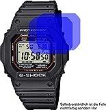 2X Crystal Clear klar Schutzfolie für Casio G-Shock Displayschutzfolie Bildschirmschutzfolie Schutzhülle Displayschutz Displayfolie Folie