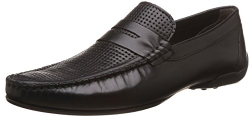 Kenneth Cole Men's Kcraw16 Mocassin 21 Black Leather Loafers and...