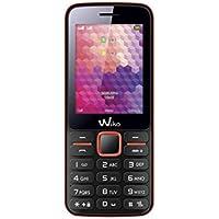 Wiko 9435 Telefono cellulare (Display 6,1cm (2,4pollici), Dual SIM), corallo