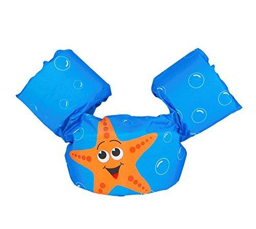 SVANAS Schwimmflügel Puddle Jumper, für Kinder und Kleinkinder von 2-6 Jahre, 15-30kg, Schwimmhilfe mit verschiedenen Designs für Jungen und Mädchen