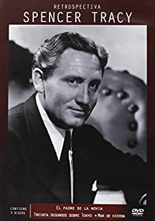 Father Of The Bride (1950) + Thirty Seconds Over Tokyo (1944) + The Sea Of Grass (1947) (3 Spencer Tracy Films) Region 2 PAL by