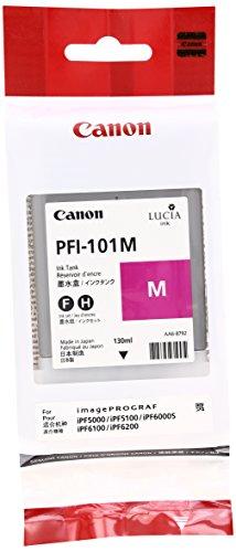 Canon Lucia PFI-101 M Cartouche de Toner d'origine Magenta