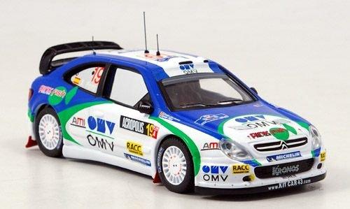 citroen-xsara-wrc-no19-pons-del-barrio-rally-acropolis-2005-modellauto-fertigmodell-ixo-143