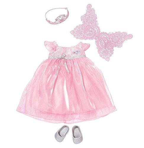 Zapf Baby Born 820728 Vestido para muñecas Accesorio para muñecas - Accesorios para muñecas (Vestido para muñecas, 3 año(s), Rosa, AAA, 320 mm, 80 mm)