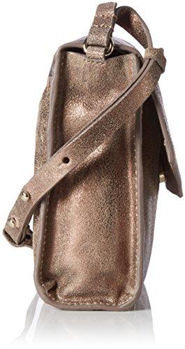 Clarks - Treen Island, Henkeltasche Unisex - Adulto Oro (Bronze Leather)