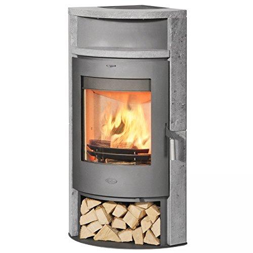 Kaminofen / Eckkaminofen Fireplace Samba Speckstein 6kW