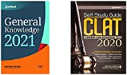 General Knowledge 2021 + Self Study Guide CLAT 2021 (Set of 2 books)(New Edition)