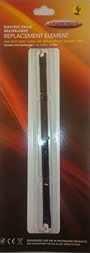 Galleria fotografica 1300Watt Ruby Long Life lampada di ricambio 254mm R7