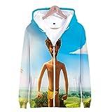 Photo de LEILEITX Unisexe 3D Imprimer Casual Sweats à Capuche Pull à Manches Longues Sweat-Shirts Hoodie Fermeture éclair Lil Dicky Earth S-XXXL par LEILEITX