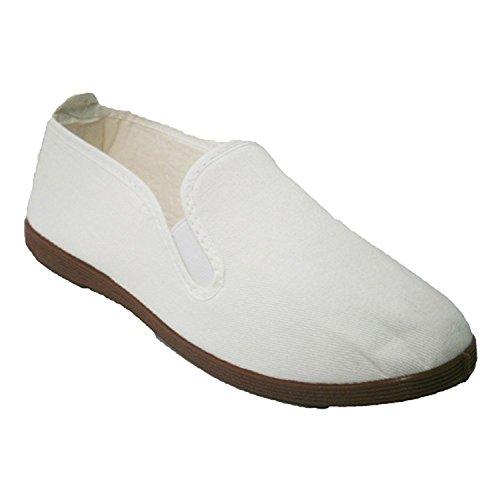 Pantofole per tai chi, yoga e Kunfu Irabia bianco taille 43