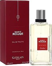 GUERLAIN Habit Rouge Eau De Toilette For Men, 100 ml