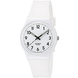 Swatch Reloj Digital de Cuarzo para Mujer con Correa de Silicona – GW151O