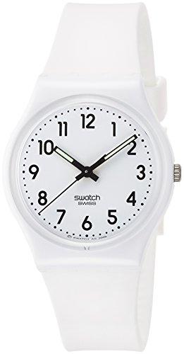 Swatch Reloj Digital de Cuarzo para Mujer con Correa de Silicona - GW151O