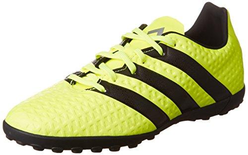 adidas Ace 16.4 Tf, Scarpe da Calcio Unisex - Bambini, Giallo (Solar Yellow/Core Black/Silver Metallic), 34 EU