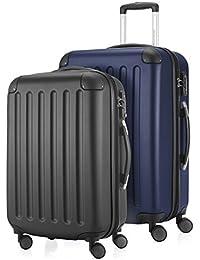 """HAUPTSTADTKOFFER® """"SPREE"""" Juegos de 2 maletas rígidas - 49+82 litros - CERRADURA TSA"""
