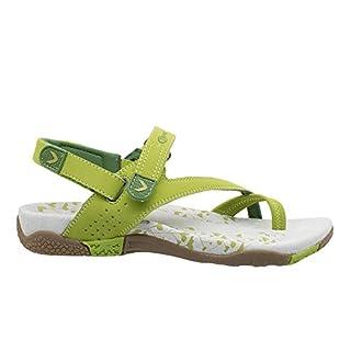 KEFAS - 3048 Altea - Travel, Trekking and Free-time Sandals PU-Nubuk, Eva Rubber Sole Green
