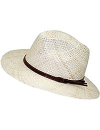 8dd64d7147518 EveryHead Fiebig Sombrero De Paja Los Hombres Verano Playa Vacaciones Equinácea  Gorro Fiesta Unisex Con Marrón