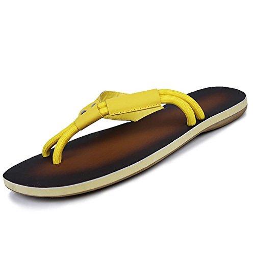 shangxian-herren-hausschuhe-flip-flops-komfort-schuhe-casual-flachen-ferse-schwarz-gelb-walking-yell