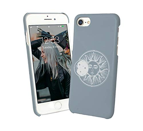Sun Moon Eclipse Universe Planets System_006003 Phone Case Cover Handyhulle Handyhülle Handy Hülle Schutz for iPhone 8 Plus Plus Funny Gift Christmas -
