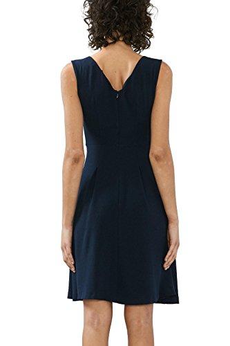 edc by Esprit 027cc1e014, Robe Femme Bleu (Navy)