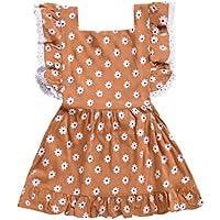 Luckycat Verano Vestidos para niña Vestidos Bebe niñas Ceremonia Sin Mangas Encaje Ropa Niña Vestido Infantil