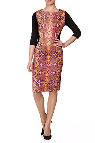 red-isabel-women-marsia-boa-print-bodycon-dress