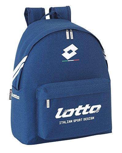 Lotto - Mochila liso, 32 x 40 cm, color marino (Safta 641508774)