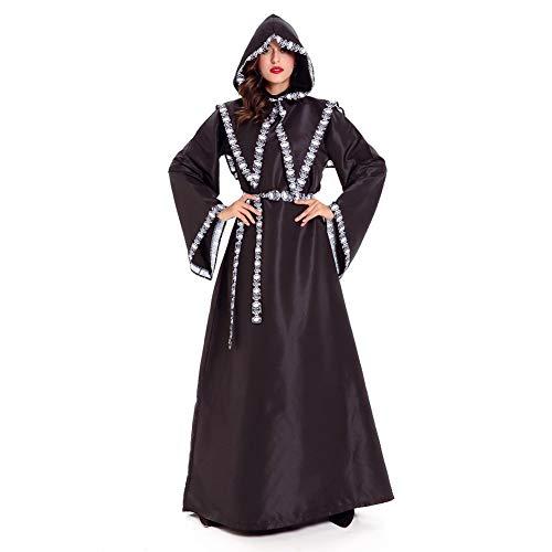 Costour Damen Anzug Halloween Kostüm Tod Vampir Skelett Zauberin Cosplay Party Verkeidung