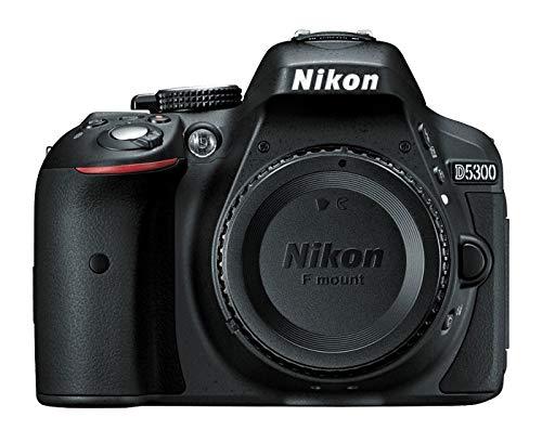 Nikon D5300 24.2MP CMOS 6000 x 4000Pixels Nero