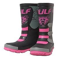 Wulfsport Mud Stomper Junior Wellington Boots (EU 25 / UK Infant 7.5, Pink)