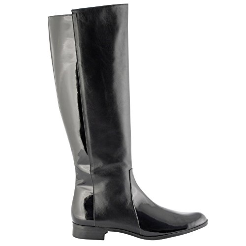 Exclusif Paris  Exclusif Paris Kinsey, Chaussures femme Bottes,  Damen Stiefel & Stiefeletten Schwarz - Schwarz