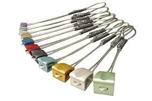 DMM Wallnut on Wire Set (Anodized), Sizes 1-6