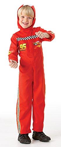 Imagen principal de Rubie`s - Disfraz infantil de Cars 2 McQueen (884665-L)