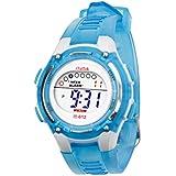 Malloom® 2015 moda Niños Niñas natación deportes digital impermeable reloj de pulsera(azul)