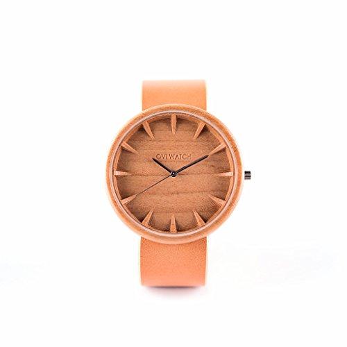 Holzuhr Tectona Von Ovi Watch | handgefertigte Quarzuhr | Unisex-Uhr