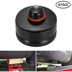 lesgos Coussin de Levage Tesla, modèle 3, 4PCS - Adaptateur Robuste pour Protection de la Batterie et de la Peinture (4 PCS)