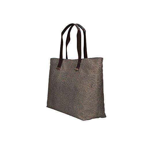 5433ccc93b Borbonese 934227296 Shopping Bag Donna Marrone Où Acheter ...