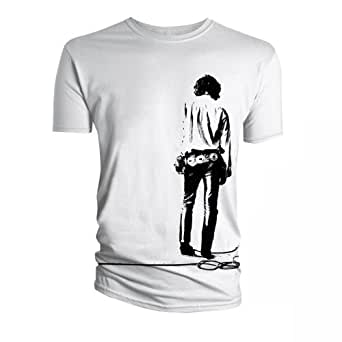 The Doors Solitary White Mens T-Shirt Small