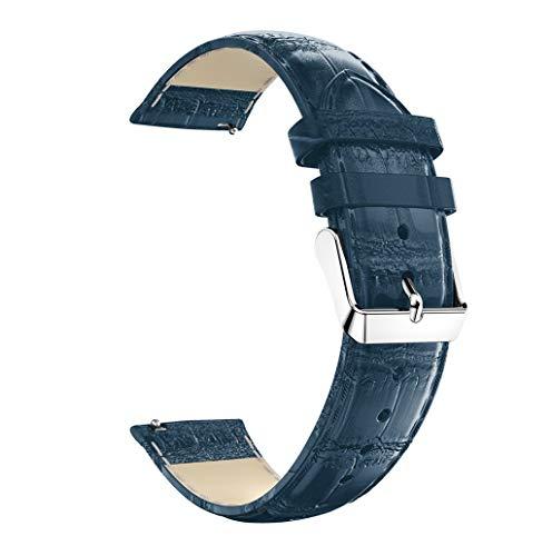 Battnot Uhrenarmbänder für Samsung Galaxy Watch Active Leder Uhrenarmband Handgelenksriemen für Damen Herren Einstellbar Ersatzband Adjustable Watch Band Replacement Wriststraps 20mm 200mm - 200 Formulare