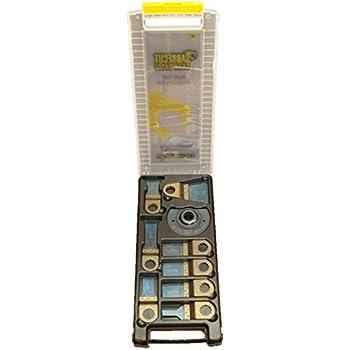 Pour Dewalt Black et Decker Bosch Fein Makita Milwaukee Ryobi Worx Multitool Outil multifonction Accessoires Pas StarLock 18 x SabreCut BB/_SPK18 Kit de 18 lames /à ajustement rapide