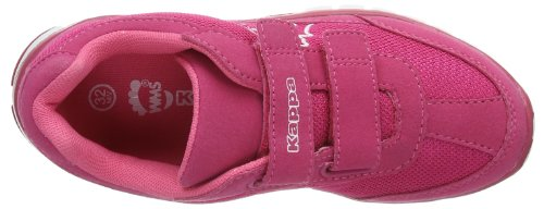 Kappa Sylvester Ii K Footwear Kids, Sneakers basses mixte enfant Multicolore - Mehrfarbig (2210 PINK/WHITE)