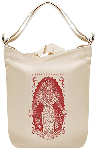 Virgen De Guadalupe Canvas Day Bag Custom Printed Handbag Fashion Accessory For Men & Women