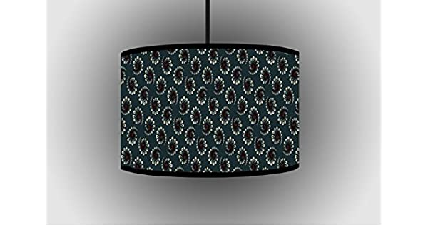 Design circolare 30 cm grigio paralume Hanging paralume
