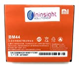 #3: Ininsight solutions Brand Battery for Xiaomi Redmi 2, Redmi 2S BM44 with 2200 mAh (3 Months Warranty)