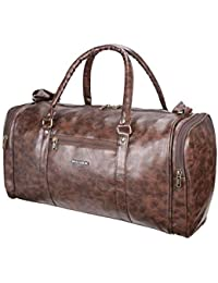 Killer Barbados 34 liters Brown PU Stylish Duffle Bag