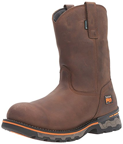 Timberland PRO Men's AG Boss Soft-Toe Waterproof Pull-on Industrial and Construction Boot