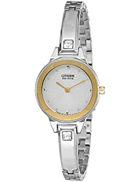 Citizen Analog White Dial Women's Watch - EX1324-53A