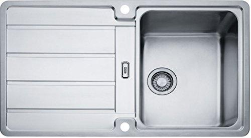 Franke Hydros HDX 614 Edelstahl-Spüle glatt Spülbecken Küchenspüle Einbau-Spüle