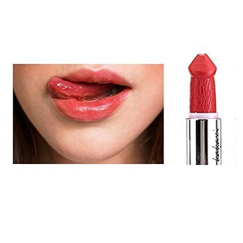 Gaddrt KAKAXI Frauen Populäre Penis Form Lippenstift Pilz Vampir Kuss Lip Gloss Heiße Verkäufe (F)